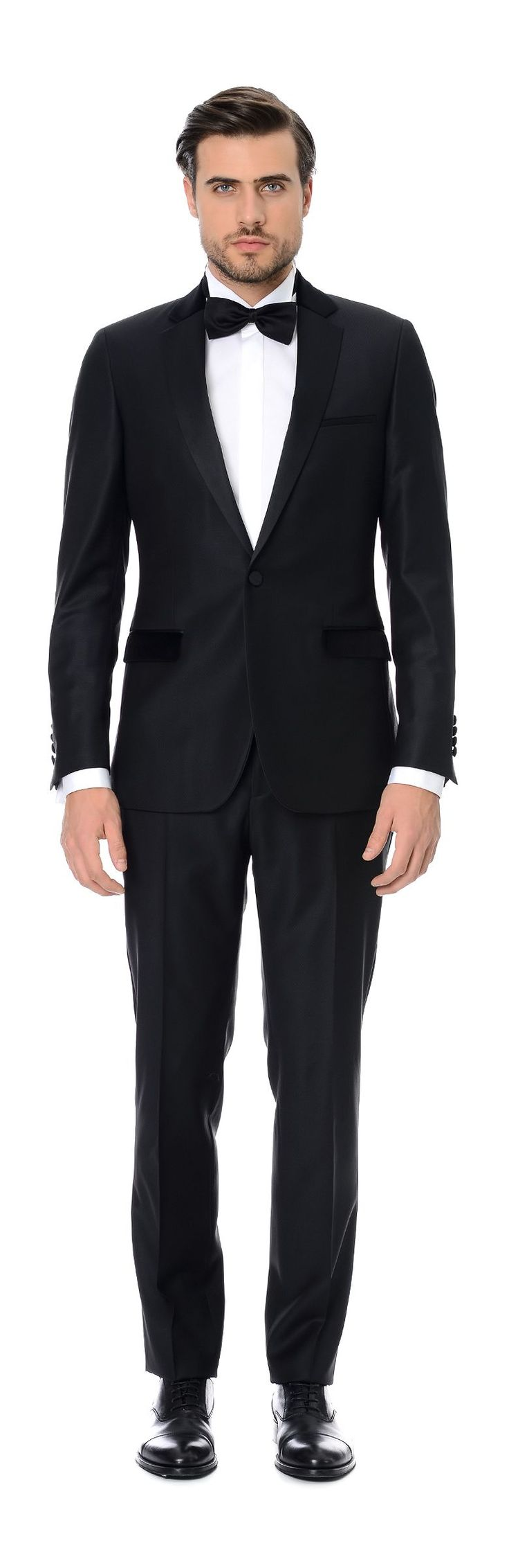 Network - Siyah Smokin Takım Elbise