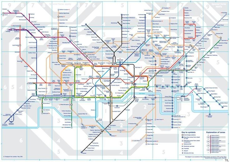 London Underground: Geographically Accurate Map Obtained By Freedom Of Information Request