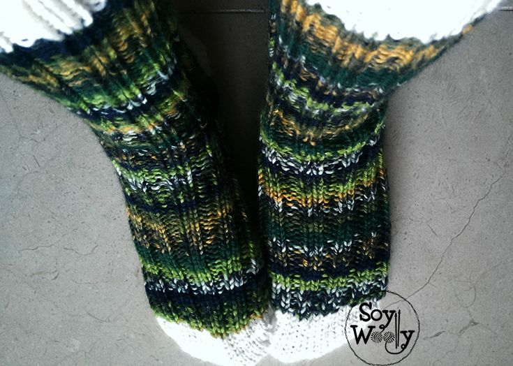 87 best patrones modernos de punto a dos agujas images on - Como hacer calcetines de lana a dos agujas ...