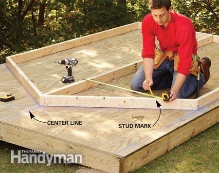 Hoe maak je een goedkope opslagloods bouwen