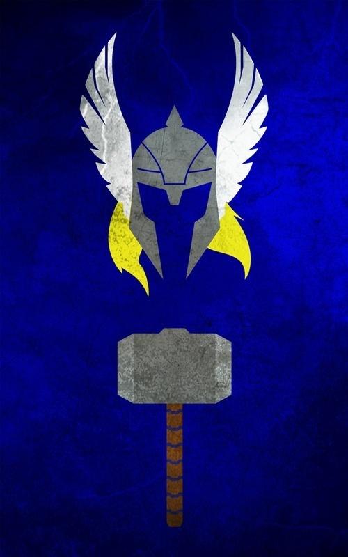 Thor minimalist-posters