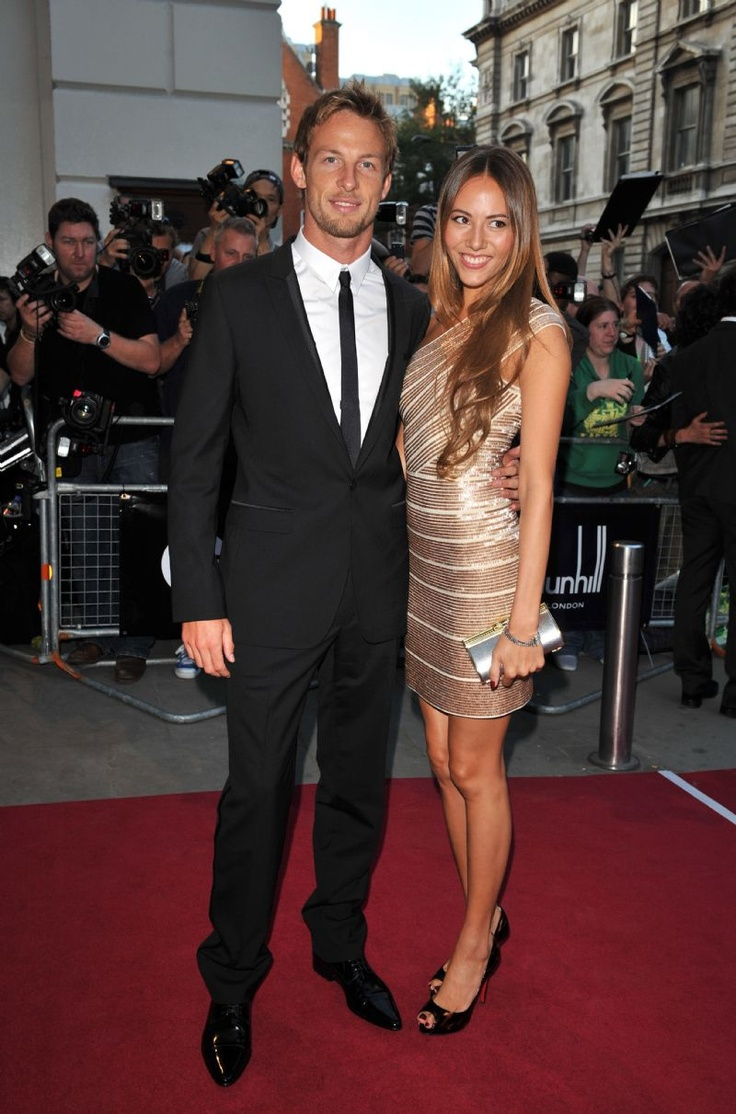 Jenson Button & Jessica Michibata = amazingly hot couple!