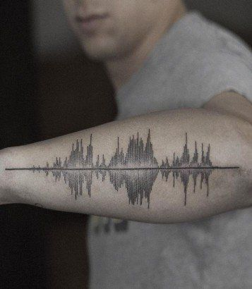 17 best ideas about sound wave tattoo on pinterest sound waves waves audio and inner forearm. Black Bedroom Furniture Sets. Home Design Ideas