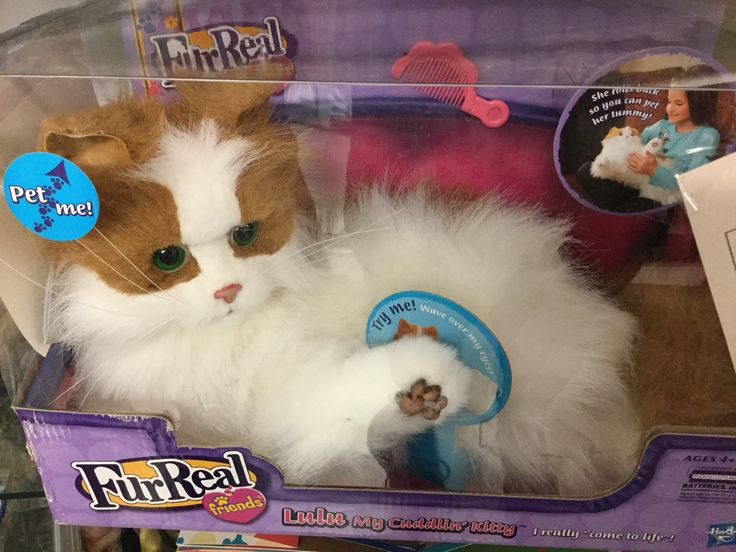furreal cat lulu instructions