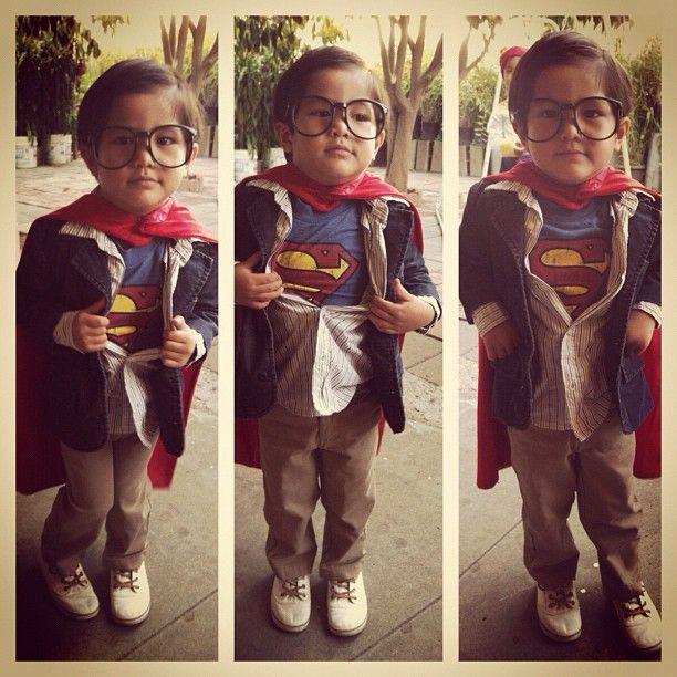 #superman #costume #diy #kids Photo by ____m