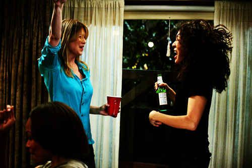 """They'll get drunk and dance with you when no one else will. 