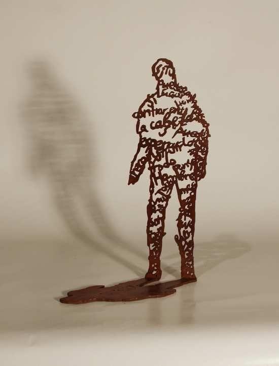 Escultura de Krum Stanoev disponible en la galería online de FLECHA, precio 360€. Mas info: http://www.flecha.es/Comprar-obras-de-Krum-Stanoev/Escultura-El--2010/608/