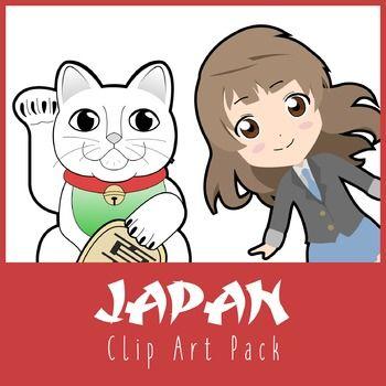A growing collection of high quality graphics showcasing the famous icons of Japan!Images include: Cherry blossom tree, Manekineko cat, Geisha, Mt Fuji, Katana, Chibi girl, Chibi boy, Egg sushi, Sushi roll, Tuna sushi, Ramen noodles, Daruma doll, National Flag, Flag variant, Bonsai tree, Koi fish, Origami, UFO machine, Train, Samurai.--------------------------------------------------------------This set contains 35 original graphics (20 coloured images with 15 having B&W versions).Image f...