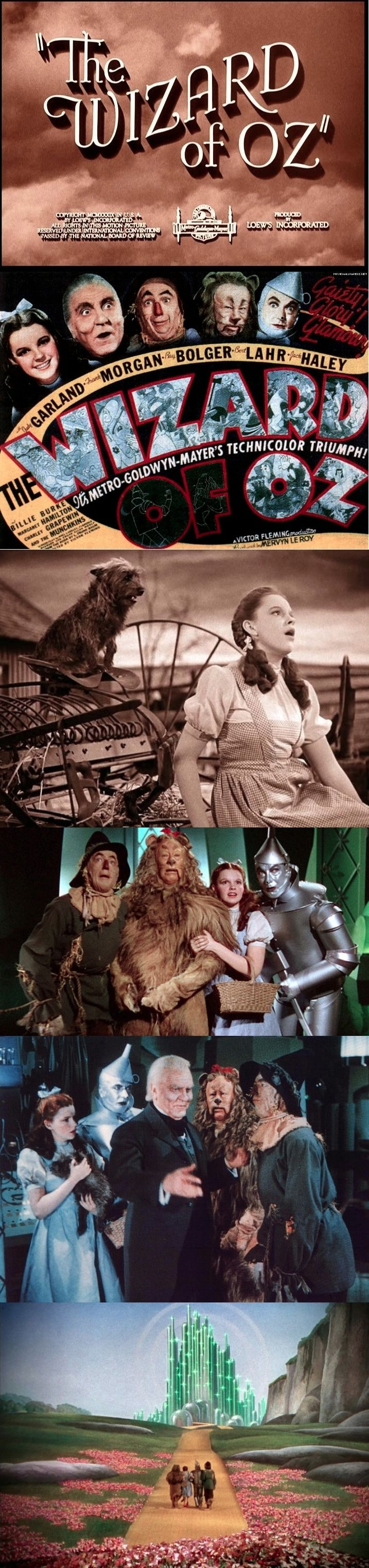 """The Oscars will honor the 75th anniversary of """"The Wizard of Oz,"""" a best picture nominee in 1939. """"The Wizard of Oz"""" received six Oscar nominations, winning two for Original Score and Song. Oscars for outstanding film achievements of 2013 will be presented on Oscar Sunday, March 2, 2014, at the Dolby Theatre® at Hollywood and Highland Center® and televised live on the ABC Television Network."""