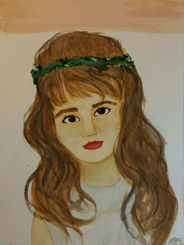 This is me ... when i was young and drawn more beautifully