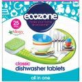 Ecozone Dishwasher Tablets Classic - Pack of 25 | Ethical Superstore £4.25