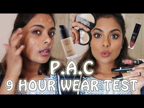 PAC COSMETICS -  9 HOUR WEAR TEST, FIRST IMPRESSIONS & REVIEW http://cosmetics-reviews.ru/2017/12/21/pac-cosmetics-9-hour-wear-test-first-impressions-review/