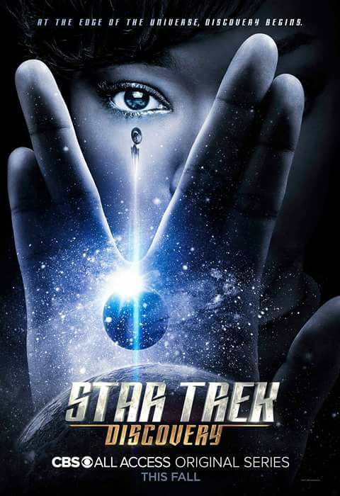 I love this new Star Trek spinoff! Star Trek Discovery [2017] official poster.