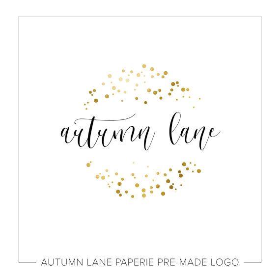 Pre-made Logo Design | Watercolor Logo | Photography Logo | Photography Watermark | Etsy Brand Set | Branding Package | Business Branding