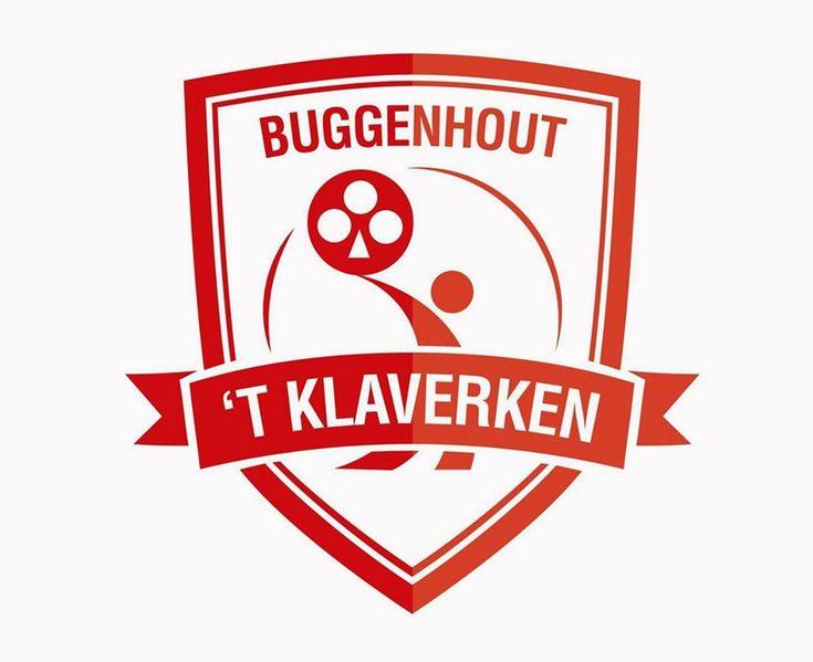 Refonte du logo du club de krachtbal « 't Klaverken » basée en Belgique à Buggenhout.