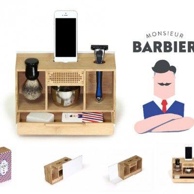 Boite rasage Monsieur Barbier