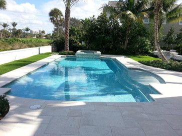 Roman Pool Designs With Beach Entry | Save To Ideabook