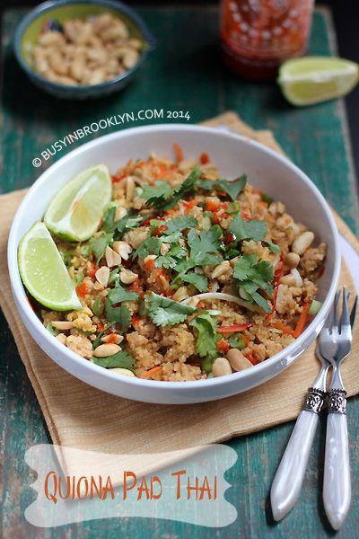 healthy quinoa pad Thai