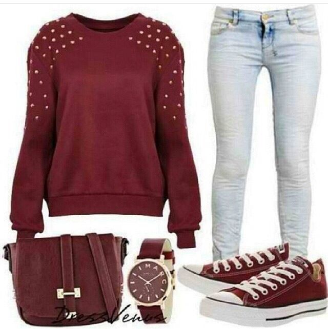 Cute outfit for school