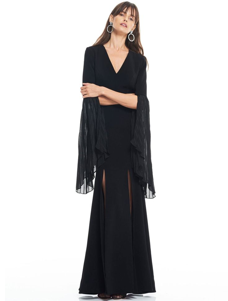 Camilla - Cirso Flared Sleeve Gown