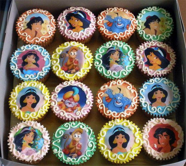 Aladdin Birthday Cake Candles