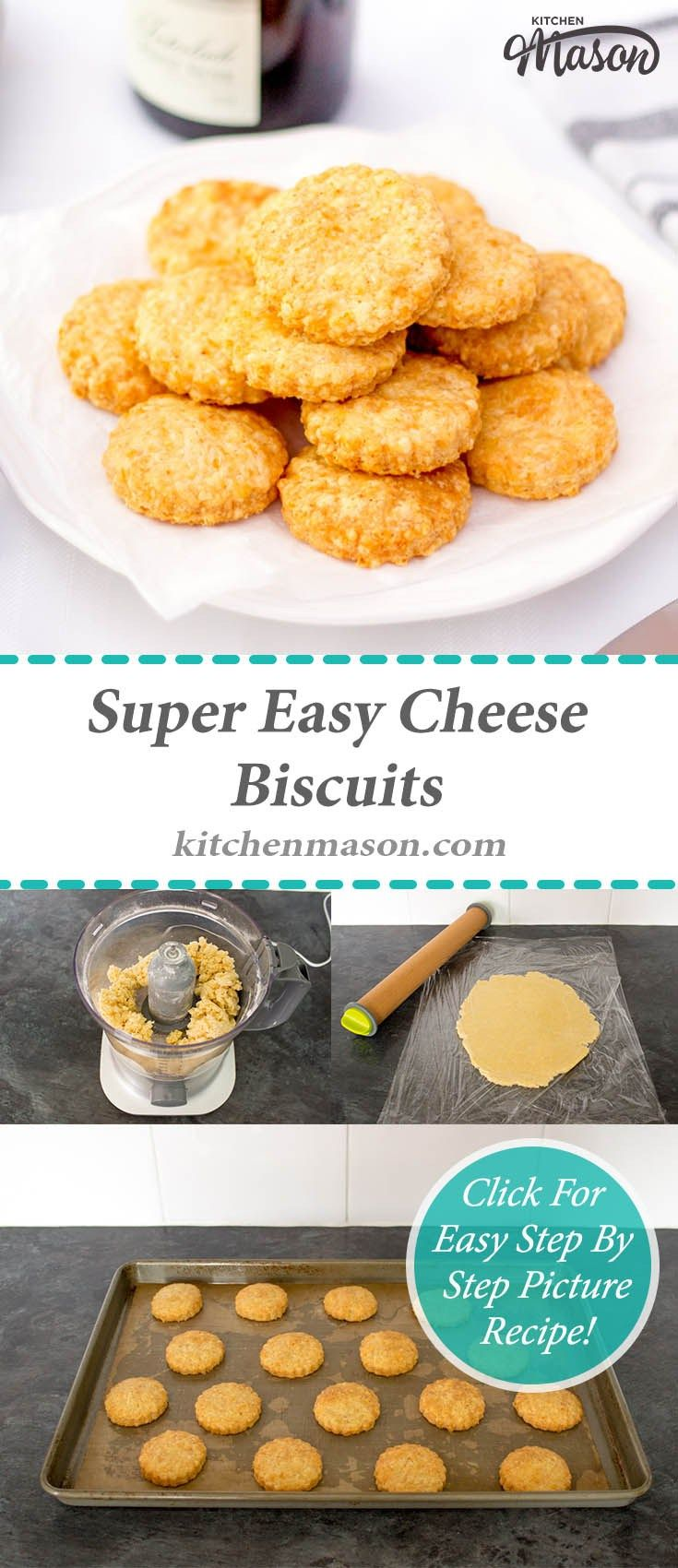 Cheese Biscuits | Easy | Christmas | New Year | Party Food | Crackers