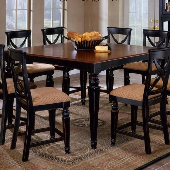 Black Square Kitchen Table: I Love High Top Square Dining Tables