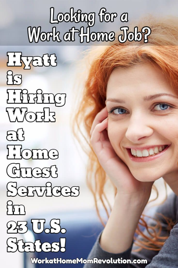 Hyatt is hiring work at home reservations in the following: AZ, CO, FL, GA, IL, IA, IA, KS, LA, MI, MN, MO, NE, NC, ND, OH, OK, SC, SD. TN, TX, UT, and WI. Awesome work from home opportunity in 23 U.S. states! If you're seeking a home-based job with an established and respected company, this is it! You can make money from home! Visit Work at Home Mom Revolution for more work at home jobs: http://workathomemomrevolution.com