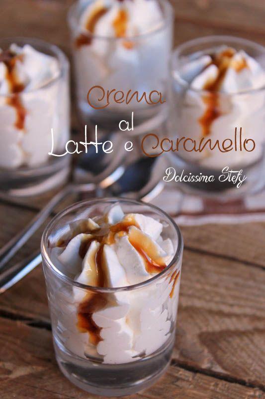 Crema al Latte e Caramello,ricetta - Dolcissima Stefy