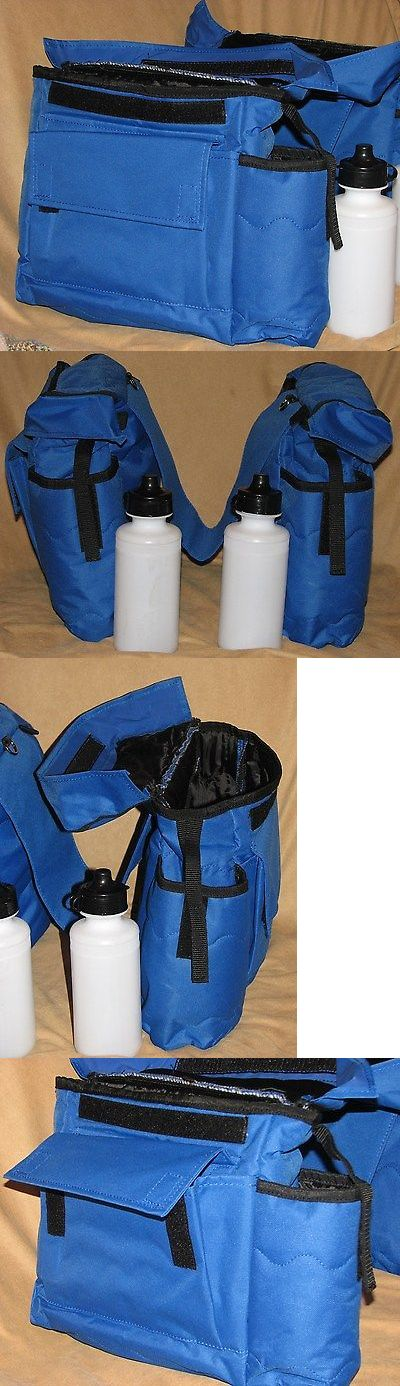 Saddle Bags 47300: Blue Insulated Cordura Nylon Western Horse Saddle Bag Trail Accessory Free Ship -> BUY IT NOW ONLY: $36 on eBay!