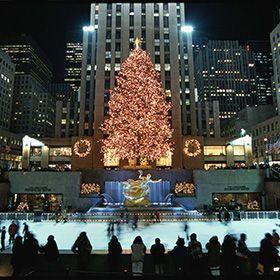 Rockefeller Center Christmas Tree Lighting | Rockefeller Center