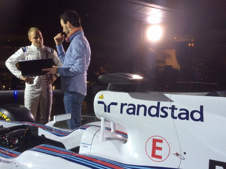 Valterri Bottas, F1 Williams Martini #Randstad