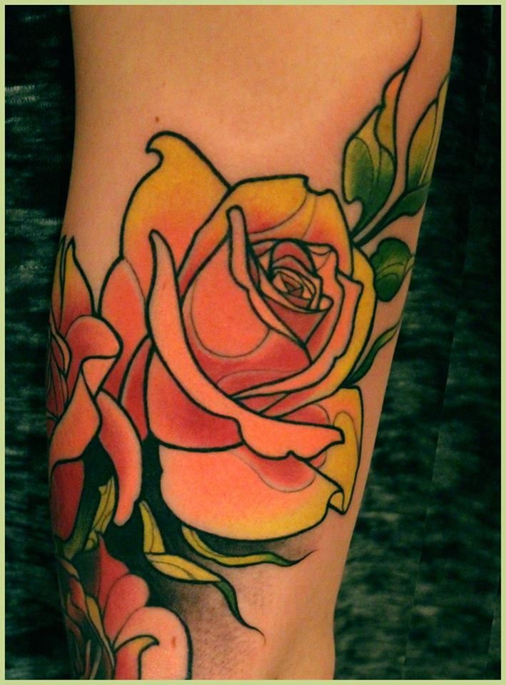852 best traditional old school tattoos images on for Neo traditional rose tattoo