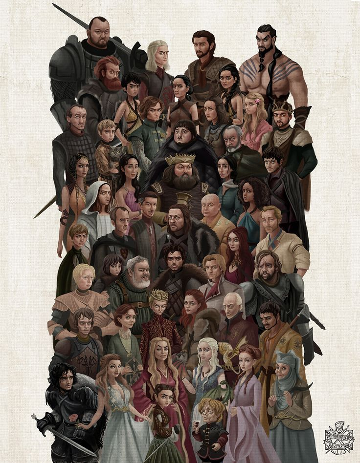 Game Of Thrones Universe. on Behance
