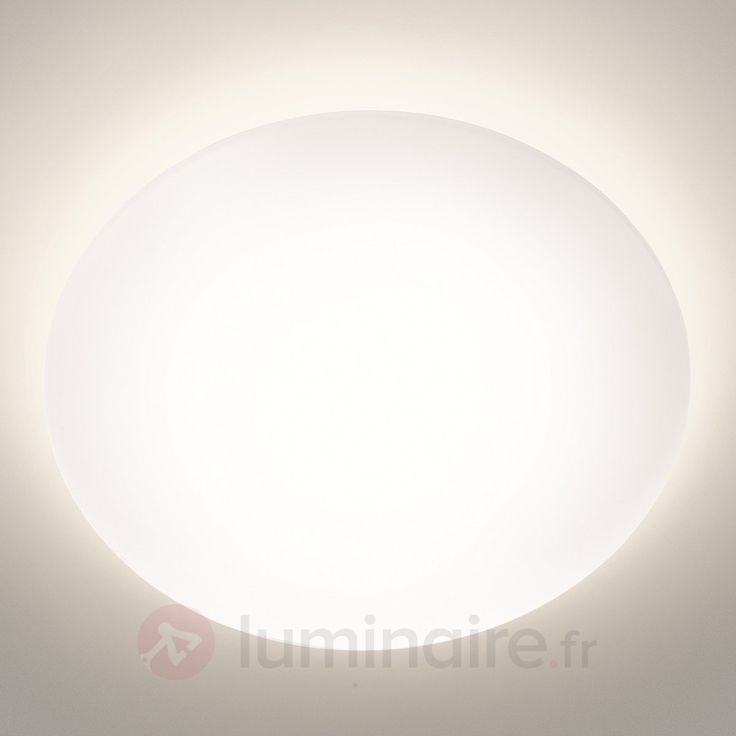 Plafonnier LED Suede blanc sicher & bequem online bestellen bei Lampenwelt.de.