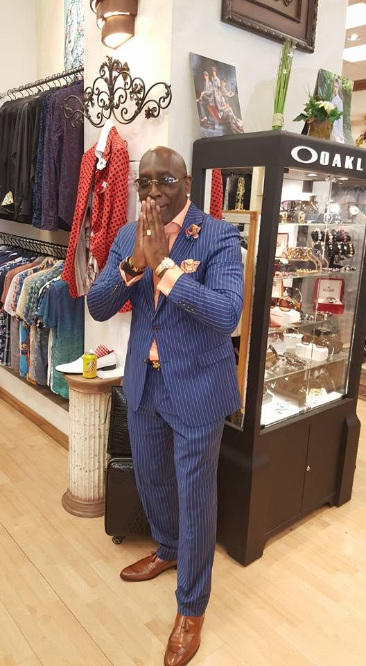 Kenny Hewitt Fashion Consultant Well Dressed Black Men