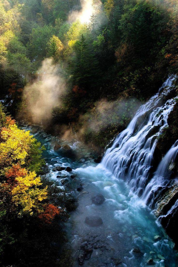 Shirahige Falls, Biei, Hokkaido, Japan | Mac So 白ひげの滝