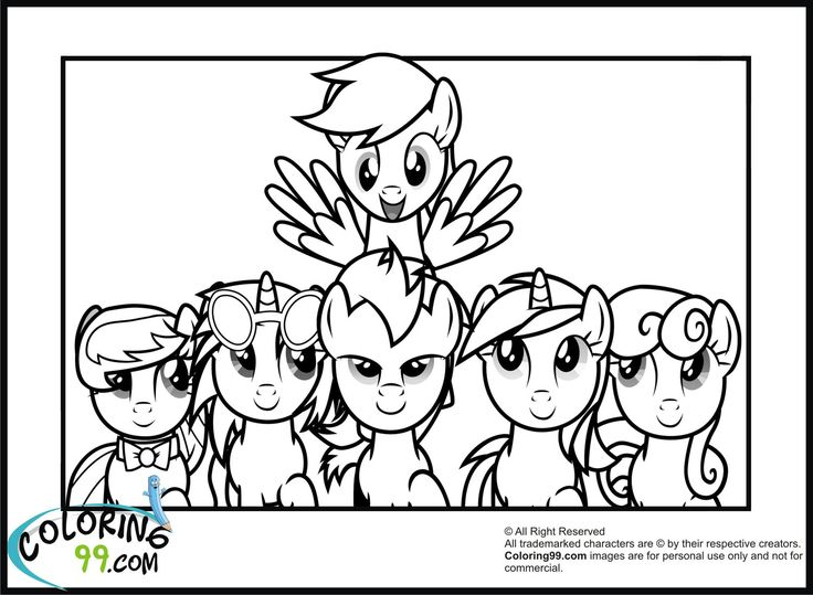 My Little Pony Coloring Pages Shining Armor Download All Mlp