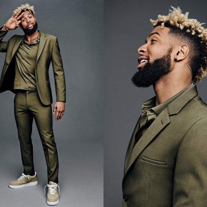 Jason Kibble · Odell Beckham Jr. · GQ Style 2016