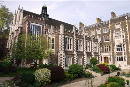 Inns of Court and Royal Courts of Justice - Middle & Inner Temple Grounds located just 2 mins from the LSBF New Court Campus.    It is a stunning example of Gothic architecture, London's Inns of Court date back to before the 14th century.