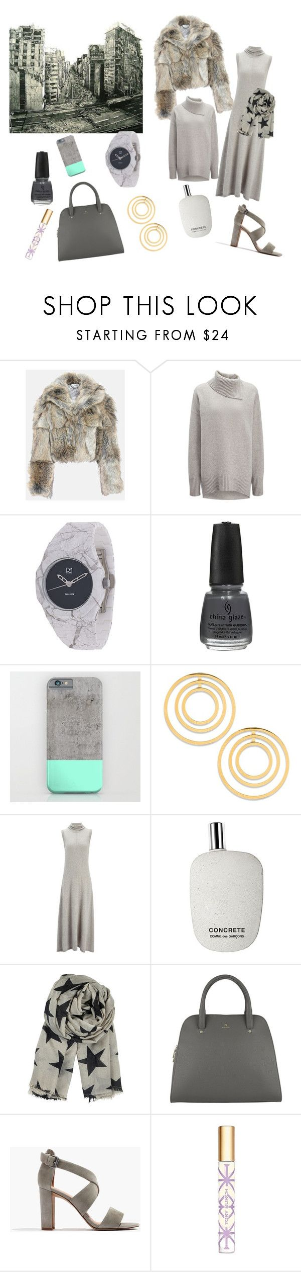 """Concrete Jungle"" by bromaxx ❤ liked on Polyvore featuring STELLA McCARTNEY, Joseph, d1 Milano, China Glaze, Lele Sadoughi, Comme des Garçons, BeckSöndergaard, Etienne Aigner, Madewell and Tory Burch"