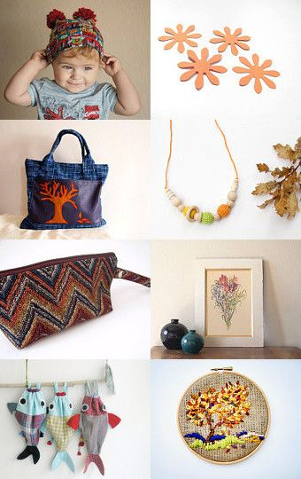 Fishing in autumn by Lisa P on Etsy--Pinned with TreasuryPin.com