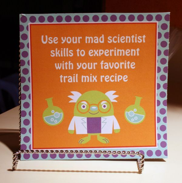 mad scientist party planning