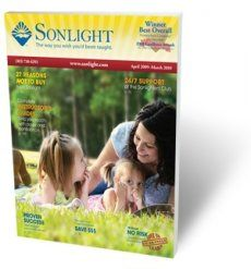 Sonlight is a comprehensive literature and history based curriculum for your PK-12 grader. Sonlight covers history, geography, language arts, bible and science.  Math, Handwriting, and electives need to be added.