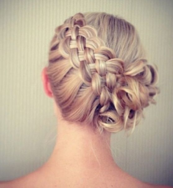 prom hair style ideas 1000 ideas about braided side buns on side 6040 | 97c8d71a3c9db14e413b6040cc13e8ec
