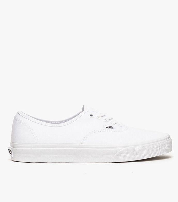 Vans #Authentic #in #True #Weiß | Cleaning white vans, White