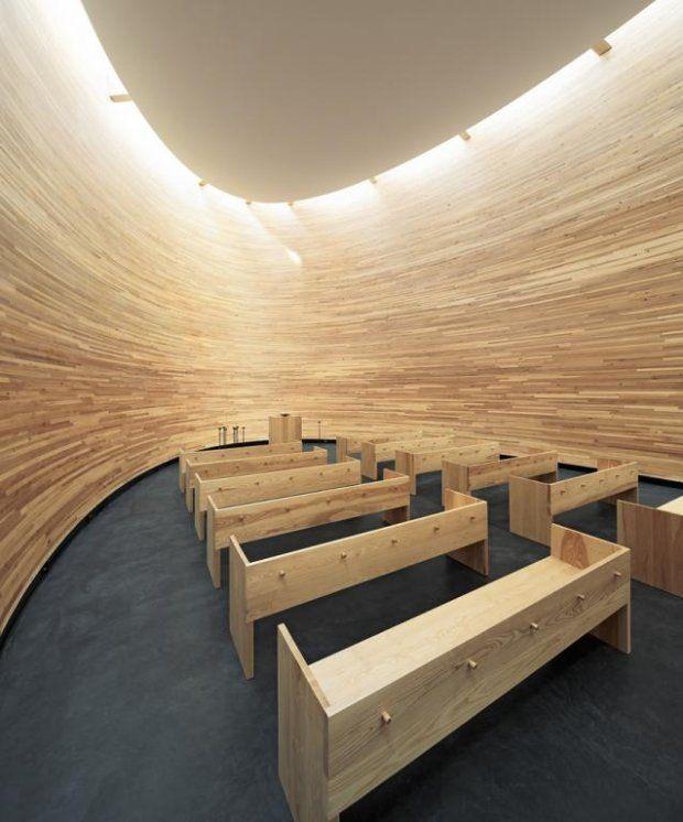 Kaplica ciszy w Helsinkach, proj. K2S Architects LTD