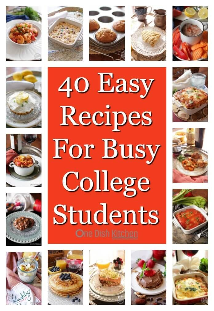 9 Easy Recipes For Busy College Students - simple single serving
