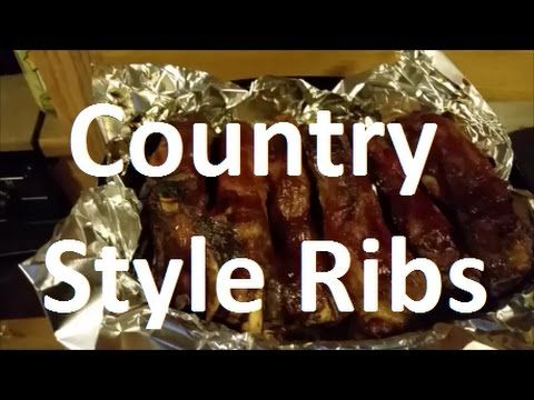 Oven Baked Country Style Ribs - YouTube