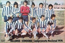 Talleres de Cordoba of Argentina team group in 1974.